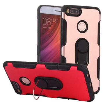2 In 1 Stealth Mental Holder Aluminum Backside Shockproof Protective Case For Xiaomi Mi5X Mi A1