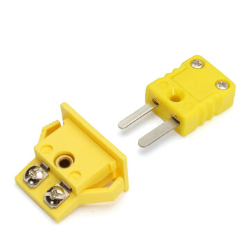 Panel Mount K-type Thermocouple Miniature Socket Plug Connector