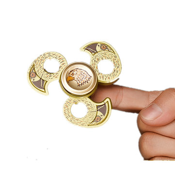Aluminiumlegering Eagle Shape Fidget Hand Spinner ADHD Autisme Verminder Stress Focus Attention Toys