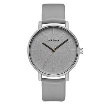 HOREDAR 844 Simple Design Classic Leather Strap Women Watch