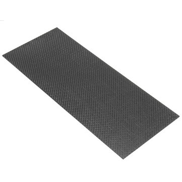 3K 200gsm 100×250×1mm Plain Weave Carbon Fiber Cloth Fabric