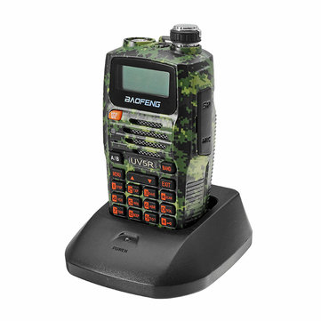 BAOFENG Camouflage Dual Band Handheld Transceiver Radio Walkie Talkie