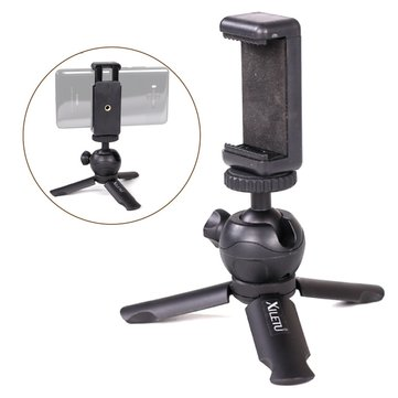 XILETU XS-1 Universal Mini Short Tripod 1/4 Screw Hole For Smartphone DSLR Zhiyun Feiyu Gimbal