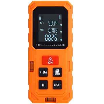 S100 100m Digital Rangefinder Distance Meter Area Volume Pythagorean Theorem Measurement Unit m/ft/in NEW