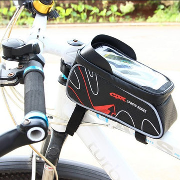CBR Mobile Phone Package Touch Screen Bicycle Bike Frame Bag for 6.0 inch or less phone