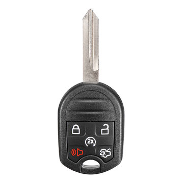 5 Buttons Remote Key Fob with 4D63-6F 80 bit Chip 315MHz For Ford Edge Fusion