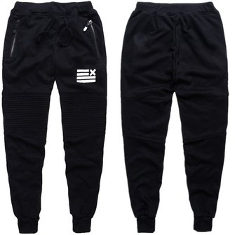 Mens Personalized Sport Sweatpants Causal Black Harem Bundle Jogger Pants