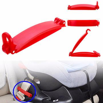 Kid Safety Belt Clip Children Car Seat Buckle Non-slip Fixed Lock