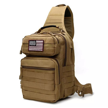 7L Outdoor Tactical Sling Bag Military Sport Daypack Backpack for Camping, Hiking, Trekking
