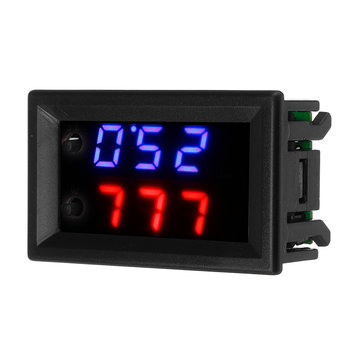 ZFX-W2062 Microcomputer Digital Electronic Temperature Controller Fahrenheit Celsius Conversion Adjustable Digital Display