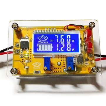 5A DC-DC Adjustable Step Down Power Supply Module Constant Voltage Current Dual LCD Display Screen