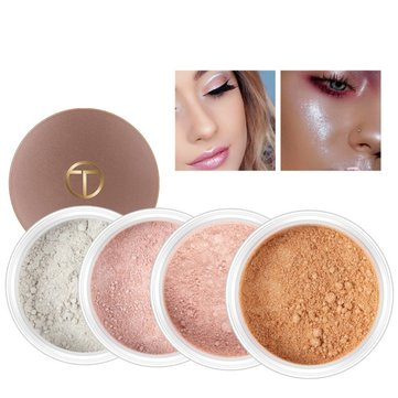 O.TWO.O Highlighter Loose Powder Brighten Skin Color Face Foundation Comestic