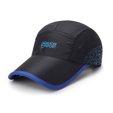 Mens Unisex ตาข่ายแห้งเร็วหมวกเบสบอล Summer Breathable Sport หมวกบังแดดบังแดด