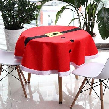 크리스마스 양복 식탁보 식탁 매트 테이블 러너 식탁보 책상 커버 그릇 열 절연