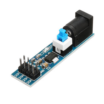 10Pcs AMS1117 3.3V Power Supply Module With DC Socket And Switch