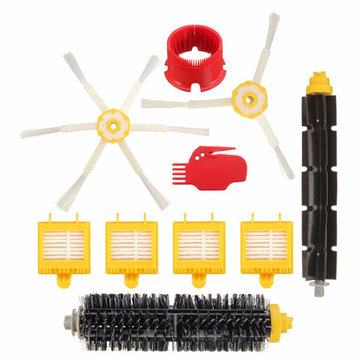 10pcs Filters Brush Pack Kit Vacuum Cleaner Accessories for iRobot Roomba 700 Series 760 770 780 790