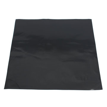 300x300x0.6mm Black Silicone Rubber Sheet Self Adhesive Pad High Temperature Plate Mat