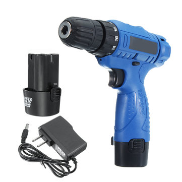 12V Rechargeable Cordless Drill Lithium-Ion Battery Electric Hammer Electric Screwdriver Power Drill