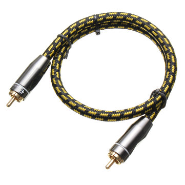 50cm HiFi Stereo Audio Interconnects RCA Audio Cables For Conference DJ
