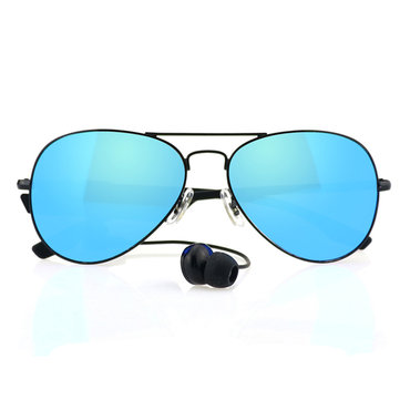 Motorcycle Sun Glassess For Gonbes K3-A With Headphones Bluetooth Function
