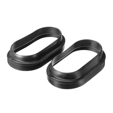Pair Motorcycle Tube Duct Inlet Rubber For Suzuki GSXR600/750 2006-2010 07 08 09