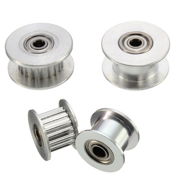 16T/20T GT2 Aluminum Timing Drive Pulley For DIY 3D Printer With/Without Tooth