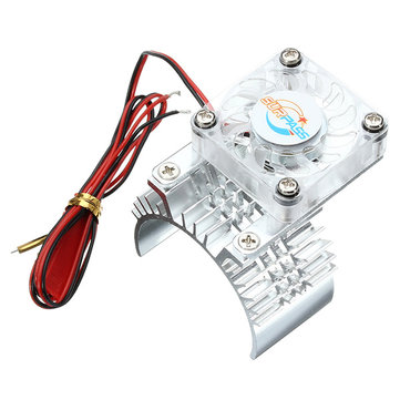 Vkarracing 1/10 4WD Radiator Fan MA395 For 51201 51204 RC Car