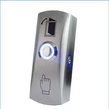 LED light Exit Button Exit Switch For Door Access Control System Door Push Exit Door Release Button Switch