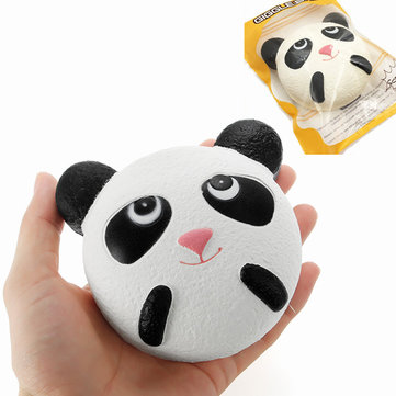 GiggleBread Squishy Panda 10cm se lève lentement avec un emballage cadeau Collection Decor Soft Squeeze Toy