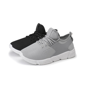 Fashion Men Athletic Casual Shoes Mesh Breathable Sports Running Training Sneakers