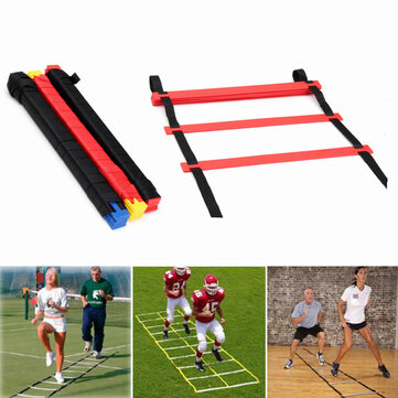 IPRee® 20 Rungs Speed ​​Agility Ladder Soccer Sport Ladder Training Carry Сумка