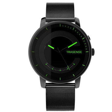 TRASENSE H03-N Smart Quartz Watch Milanese Stainless Steel S