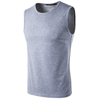 Mens Moisture Wicking Sleeveless Slim Sports T-Shirts