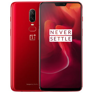 OnePlus 6 6.28 Inch Amber Red 19:9 AMOLED NFC 8GB RAM 128GB ROM Snapdragon 845 4G Smartphone