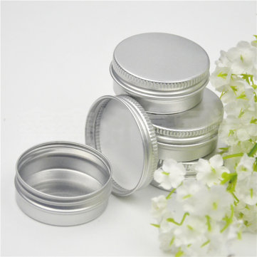 10Pcs 36*17mm Small Round Tin Box Lip Balm Metal Box for Cosmetics