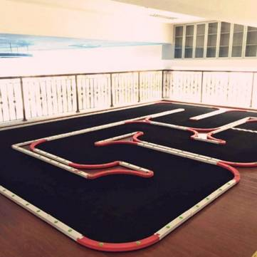 RC Car Racing Runway Track Autodrome Unassembled Parts