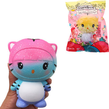 Giggle Bread Tiger Squishy 12*9.5*7.5cm Slow Rising With Packaging Collection Gift Soft Toy