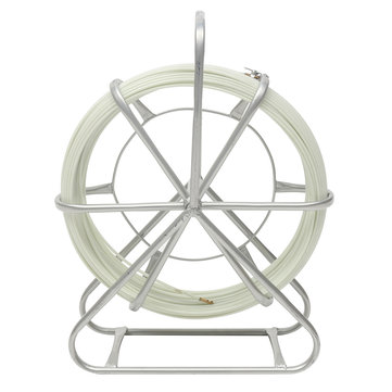4.5mm Resin Glass Wire Cable Snak Electric Tape Running Rod Duct Rodder Puller 70M