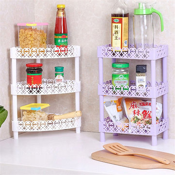 Multilayer Storage Rack Living Room Kitchen Bathroom Organizer Desktop Book Shelf Holder