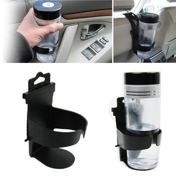 Cool Black Vehicle Car Truck Door Mount Drink Bottle Cup Holder Stand