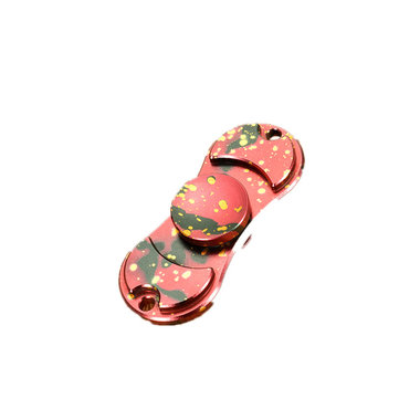 Retro Camouflage Dazzle Fidget Hand Spinner ADHD Autism Fingertips Fingers Gyro Reduce Stress