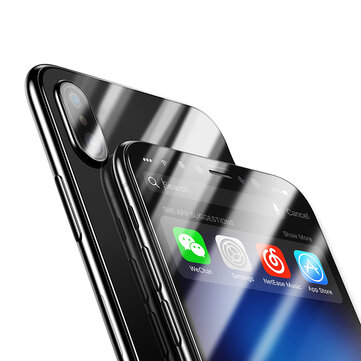 Bakeey 4D Curved Edge Cold Carving Tempered Glass Screen Protector For iPhone X