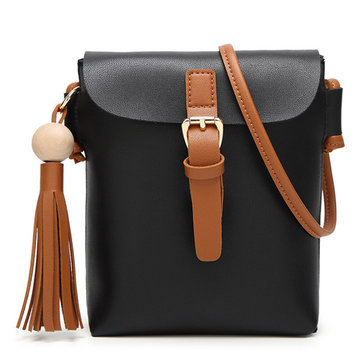 Vrouwen Retro Tassel Shoulder Bags Belt Ontwerp Crossbody Bags Messenger Bags