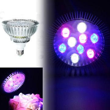9W E27 PAR38 LED แนวปะการังเต็มรูปแบบ โรงงาน Grow Light Tank พิพิธภัณฑ์สัตว์น้ำ