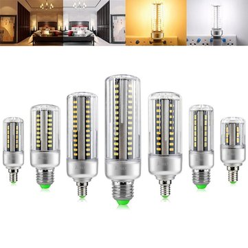 ARILUX® E27 E14 5W 7W 9W 12W 15W 20W 25W 5736 SMD Aluminum No Flicker LED Corn Bulb Light