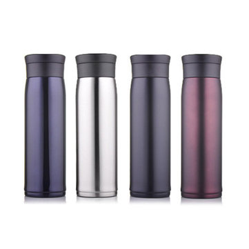 500ml Fashion Stainless Steel Travel Mug Commerce Vacuum Flask Bottle Thermos