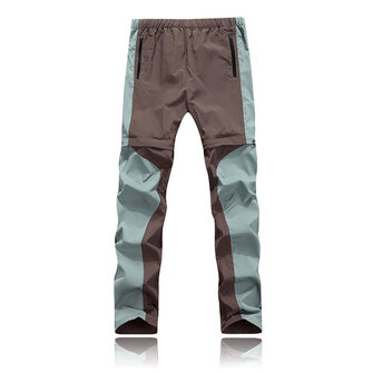 Detachable Hiking Outdooors Pants Mens Breathable Quick Drying SporT-pants Casual Climbing Trousers