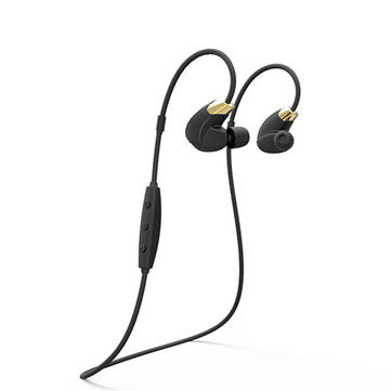 CANNICE Y4 Sporty Oreillette anti-transpiration sans fil Bluetooth 4.1 Headset Headphone