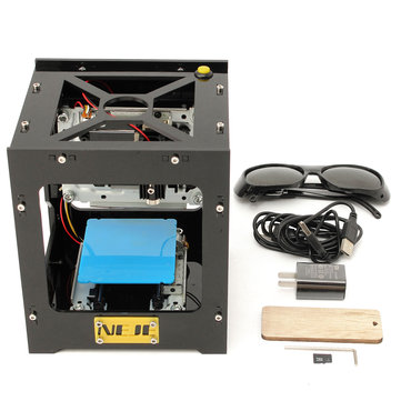 Black NEJE 500mW USB DIY Laser Engraver Printer Machine Print Logo Picture Laser Engraving Machine