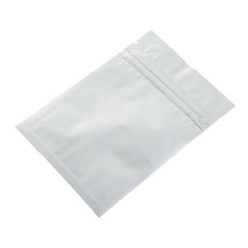 50Pcs 9x13cm Clear Front Aluminium Foil Zip Lock Bags Food Reclosable Seal Storage Packaging Bags